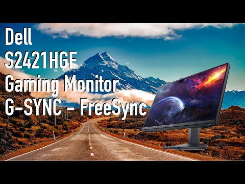 Dell S2421HGF | FreeSync G-Sync Supported