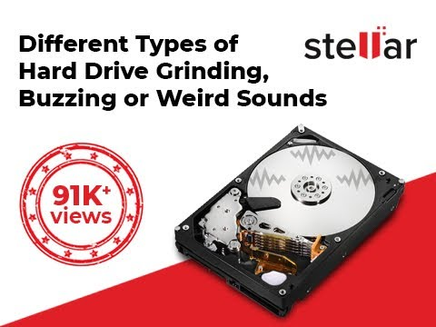 Different Types of Hard Drive Grinding, Buzzing, Failure, Crash, or Weird Sounds on Startup