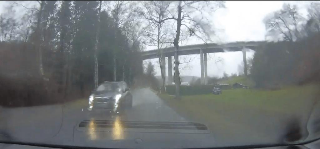 iTracker Dashcam bei Regen